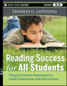 Reading Success for All Students: Using Formative Assessment to Guide Instruction and Intervention-0