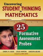 Uncovering Student Thinking in Mathematics: 25 Formative Assessment Probes-0