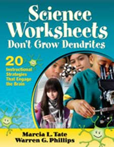 Science Worksheets Don't Grow Dendrites: 20 Instructional Strategies That Engage the Brain-0