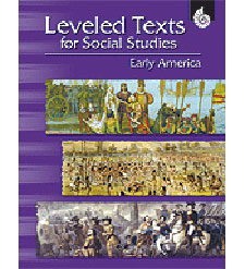 Leveled Texts for Social studies: Early America, grades 4-8-0