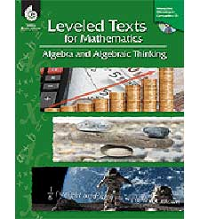 Leveled Texts for Mathematics: Algebra and Algebraic Thinking-0