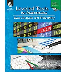 Leveled Texts for Mathematics: Data Analysis and Probability-0