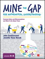 Mine the Gap for Mathematical Understanding, Grades 6-8: Common Holes and Misconceptions and What To Do About Them-0