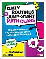 Daily Routines to Jump-Start Math Class, Middle School: Engage Students, Improve Number Sense, and Practice Reasoning-0