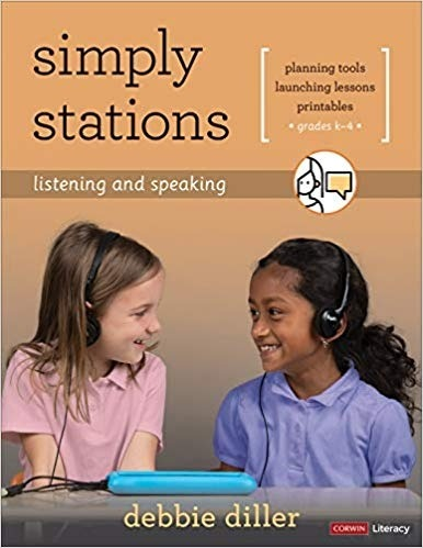 Simply Stations: Listening and Speaking, Grades K-4-0