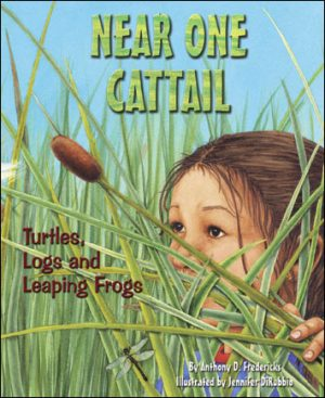 Near One Cattail: Turtles, Logs and Leaping Frogs-0