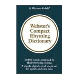 Webster's Compact Rhyming Dictionary-0