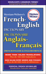 Merriam-Webster's French-English Dictionary-0