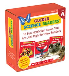 Guided Science Readers, Level A: 16 Fun Nonfiction Books That Are Just Right for New Readers-0