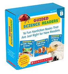 Guided Science Readers, Level B: 16 Fun Nonfiction Books That Are Just Right for New Readers-0