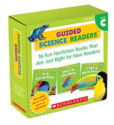 Guided Science Readers, Level C: 16 Fun Nonfiction Books That Are Just Right for New Readers-0