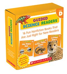 Guided Science Readers, Level D: 16 Fun Nonfiction Books That Are Just Right for New Readers-0
