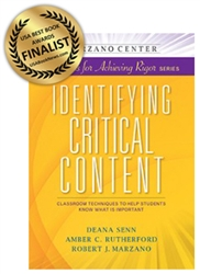 Identifying Critical Content: Classroom Techniques to Help Students Know What is Important-0
