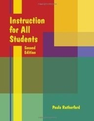 Instruction for All Students, Second Edition-0