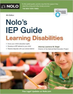 Nolo's IEP Guide: Learning Disabilities, Sixth Edition-0