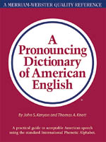 A Pronouncing Dictionary of American English-0