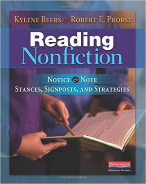 Reading Nonfiction: Notice & Note Stances, Signposts, and Strategies-0