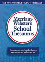 Merriam-Webster's School Thesaurus-0