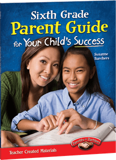 Sixth Grade Parent Guide for Your Child's Success-0