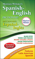 Merriam-Webster's Spanish-English Dictionary-0