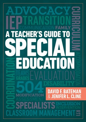 A Teacher's Guide to Special Education-0